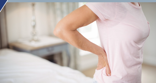 women and back pain